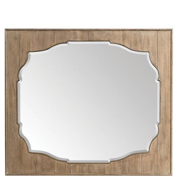 Riverside - Landscape Mirror - Caramel Finish