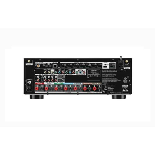 7.2ch. High-Power 4K AV Receiver with Dolby Atmos and Voice Control