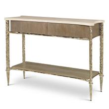 See Details - Chiseled Console Table