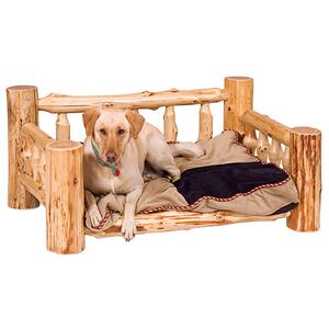 Dog Bed - Natural Cedar