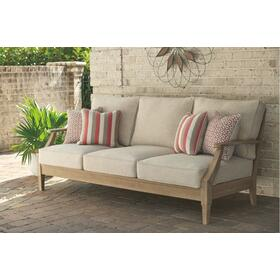Clare View Sofa with Cushion Beige