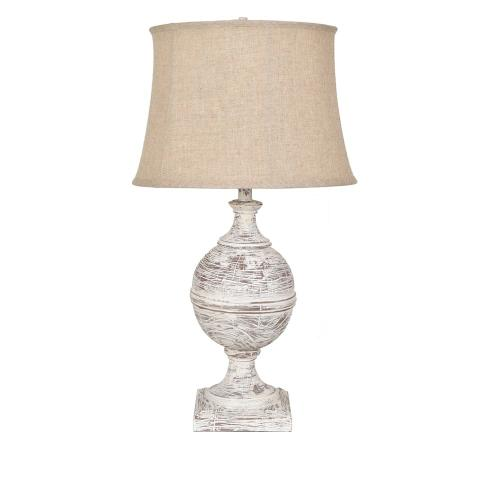 Post Knob Table Lamp