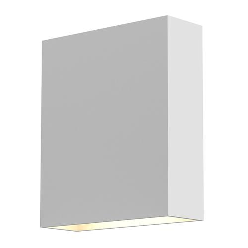 Sonneman - A Way of Light - Flat Box Up/Down LED Sconce [Color/Finish=Textured White]