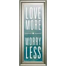 """Love"" By Sd Studios Framed Print Wall Art"
