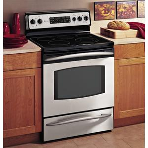 """GE Profile 30"""" Free-Standing CleanDesign Electric Range"""