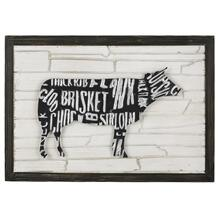 Cow Wall Art I