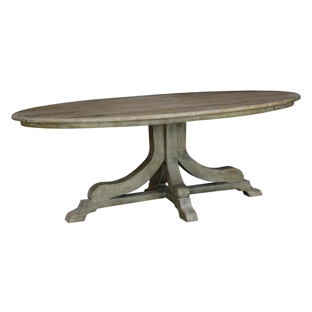 See Details - Aimee 84\u0022 Oval Dining Table