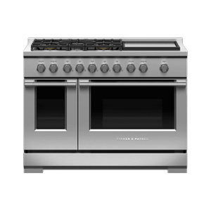 "Fisher & PaykelGas Range, 48"", 5 Burners with Griddle, LPG"