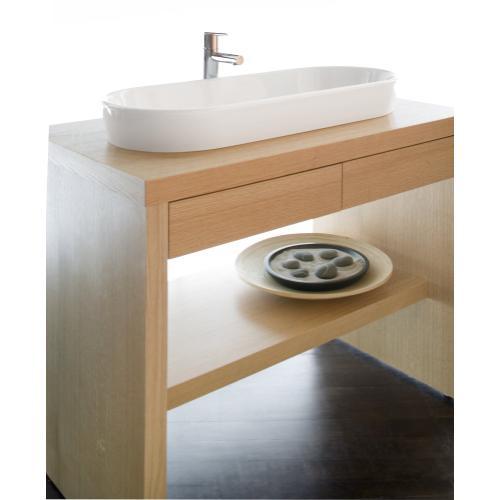 """Floor-mount vanity Z120 - 20"""" Depth"""