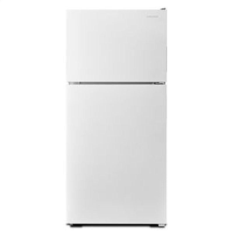 30-inch Wide Top-Freezer Refrigerator with Garden Fresh Crisper Bins - 18 cu. ft. - White