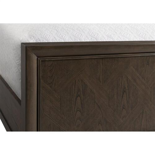 Monterey - Queen Panel Footboard - Mink Finish