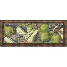 """Sparkling Pears I"" By Silvia Rutledge Framed Print Wall Art"