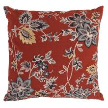 See Details - Danica Floral Red 18x18