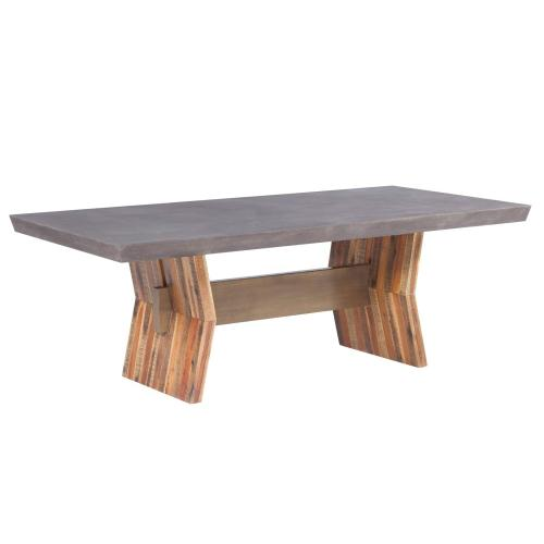 Tov Furniture - Astoria Dark Concrete Table