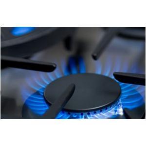 """30"""" five burner manual-clean gas range + convection oven w/ wok burner - NG"""