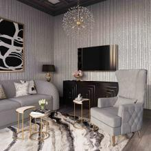 View Product - Alina Grey Tall Tufted Back Chair