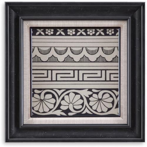 Bassett Mirror Company - Ornamental Tile Motif III Wall Art