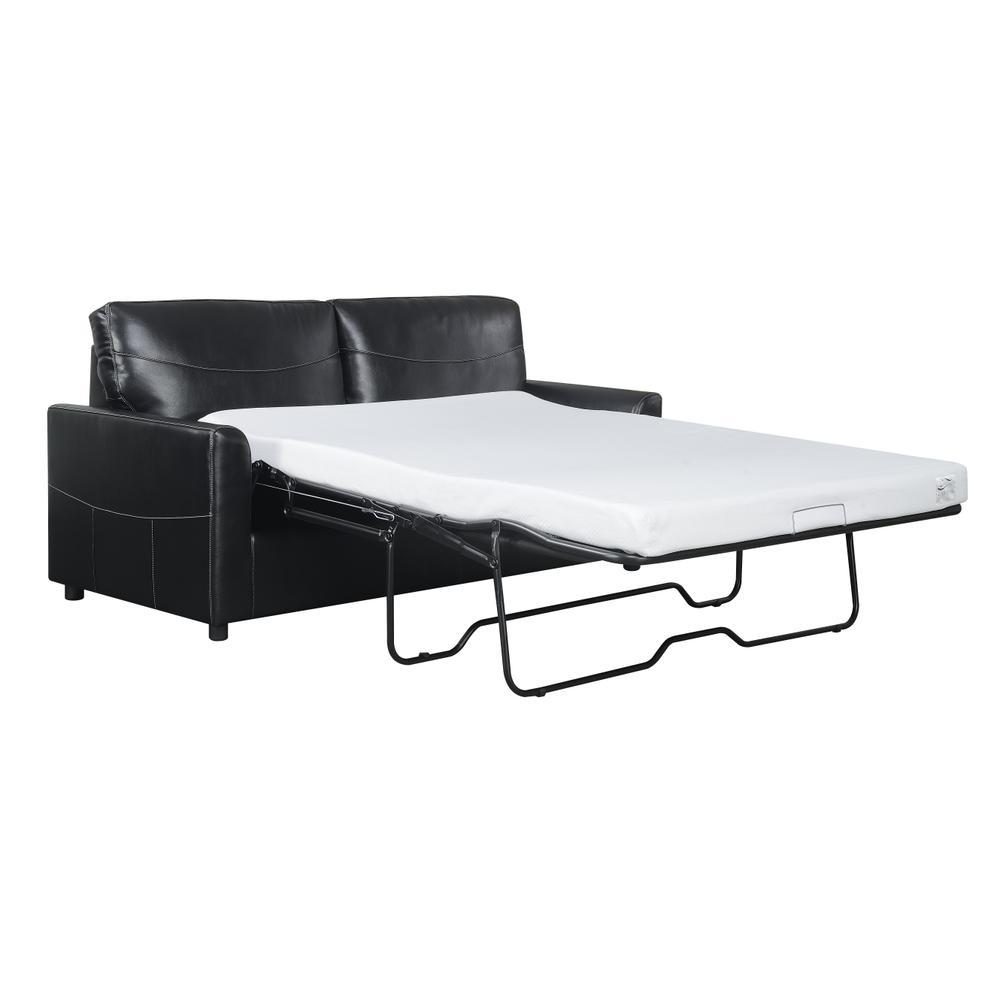 Slumber Full Sleeper Sofa, Black U3215-46-26