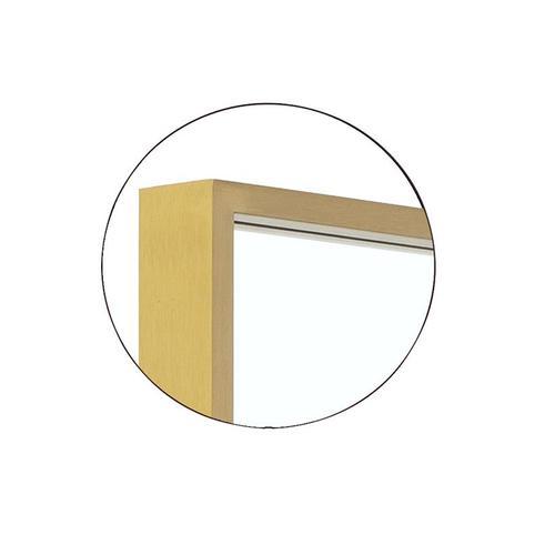 Kit Rectangular Mirror Polished Nickel