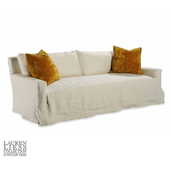 Lady Slipcovered Mini Sofa