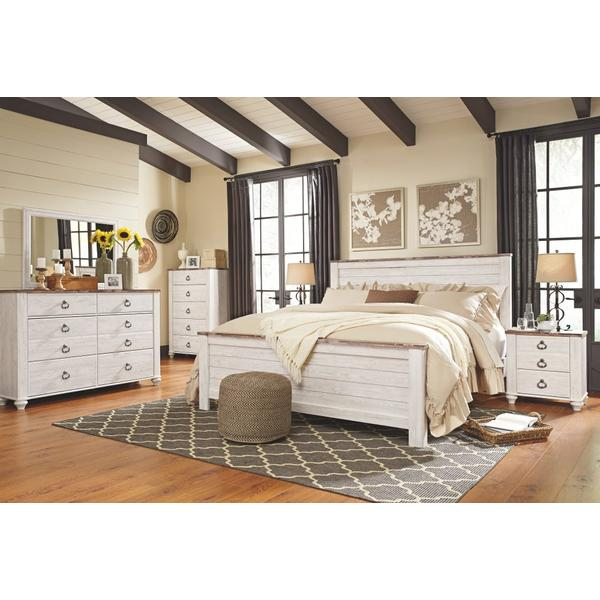 Willowton King Panel Bed