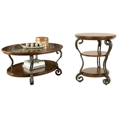 Ashley - Coffee Table With 1 End Table