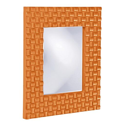 Justin Mirror - Glossy Orange