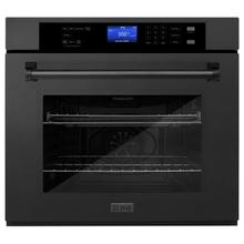View Product - ZLINE 30 in. Professional Single Wall Oven with Self Clean (AWS-30) [Color: Black Stainless Steel]