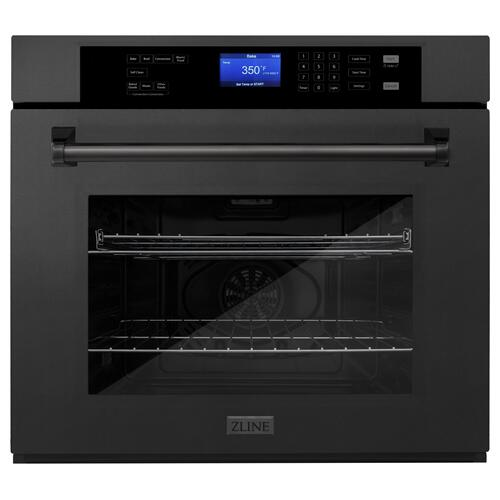 Zline Kitchen and Bath - ZLINE 30 in. Professional Single Wall Oven with Self Clean (AWS-30) [Color: Stainless Steel]