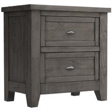 See Details - Brookfield Grey Nightstand