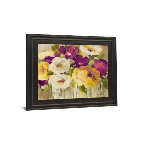 """""""Deep In Purple I"""" By Lanie Loreth Framed Print Wall Art"""