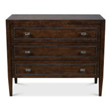 Toulon Chest, Burnt Brown Oak