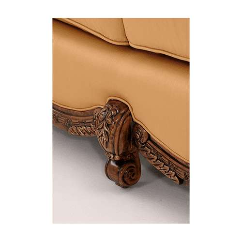 Wood Trim Sofa - Opt1