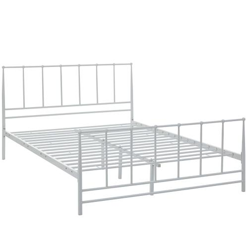 Modway - Estate Queen Bed in White