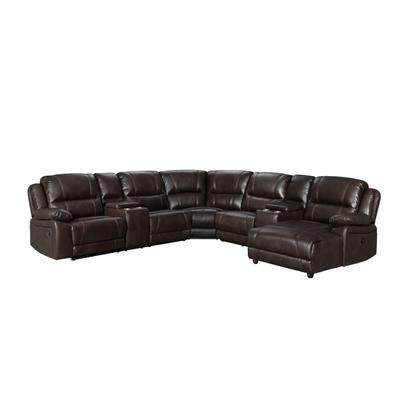See Details - 59934 Roncalli 4 Piece Reclining Sectional