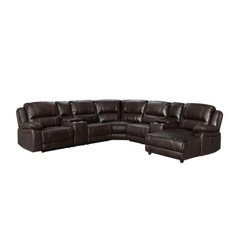 59934 Roncalli 4 Piece Reclining Sectional