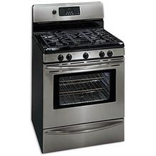 REFURBISHED GAS Professional Stainless Range. (This is a Stock Photo, actual unit (s) appearance may contain cosmetic blemishes.  Please call store if you would like actual pictures).  This unit carries our 6 month warranty, MANUFACTURER WARRANTY and REBATE NOT VALID with this item. ISI 42338