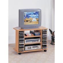 See Details - Corner TV/CD Cart