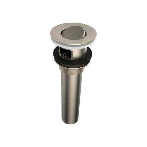 Drain for Undermount/Drop In Bathtubs - Brushed Nickel