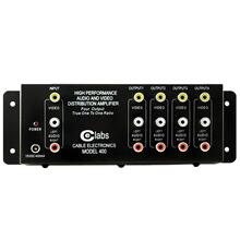 Prograde Composite A/V Distribution Amp (4 Output)