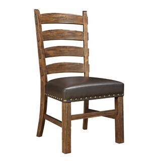 Chambers Creek Ladderback Side Chair Brown