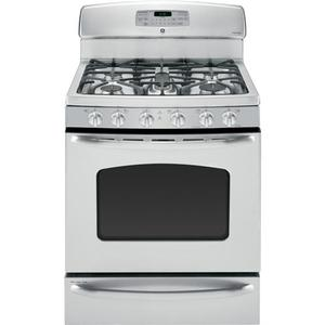 "GE® 30"" Free-Standing Gas Range with Baking Drawer"