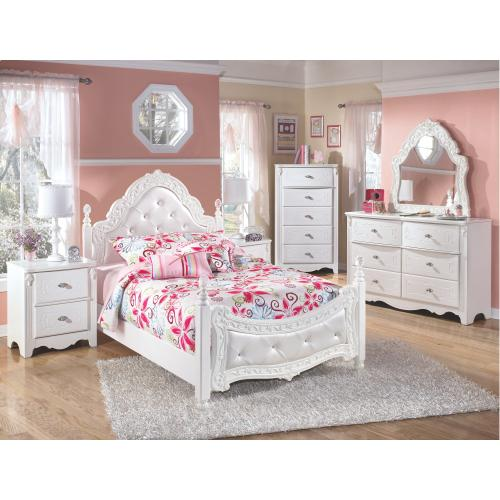 Signature Design By Ashley - Exquisite Full Poster Bed