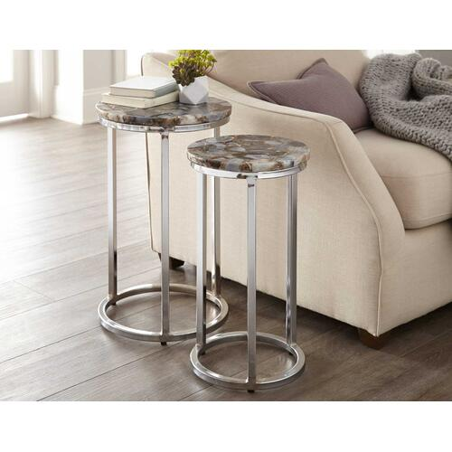 Gallery - Onyx Agate Top Nesting Table