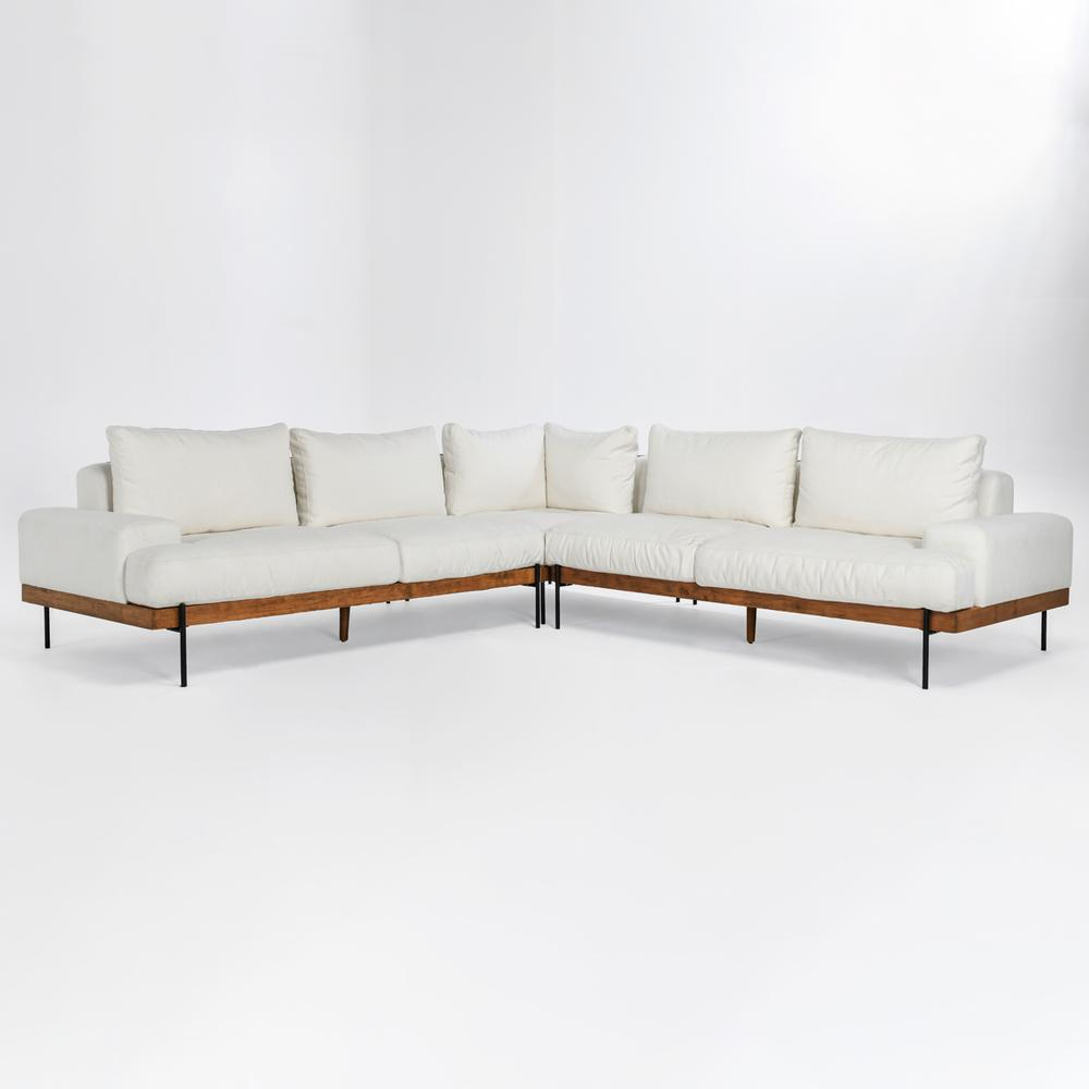 See Details - Faro Sectional White
