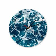 Sea Water Round Acrylic Wall Clock