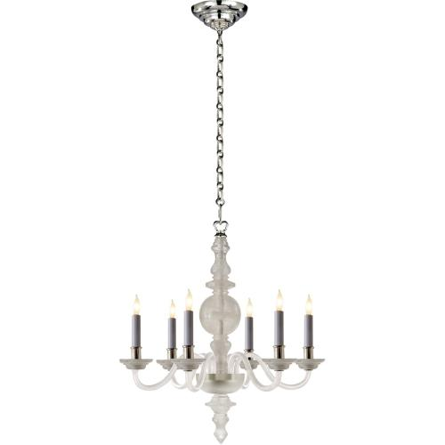 Visual Comfort CHC1155Q E. F. Chapman George Ii 6 Light 22 inch Natural Quartz Stone Chandelier Ceiling Light