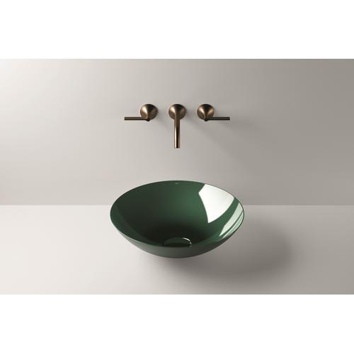 Dish basin, SB.Aqua450, deep green