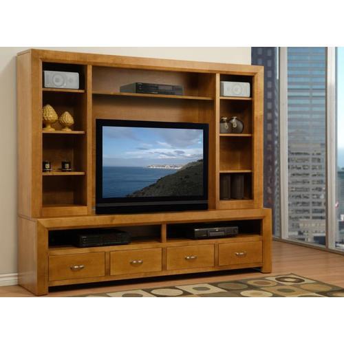 Handstone - 82'' Contempo HDTV Console w/ Hutch