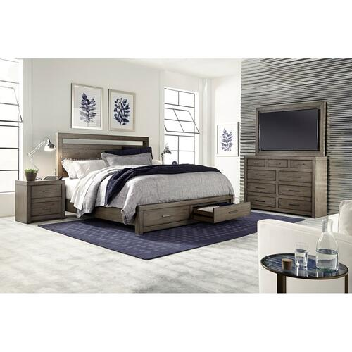 Aspen Furniture - King Storage Bed